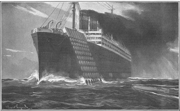 Wretched Anti-Submarine Defense, 1916