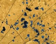 Dissolving Surface May Form Titan's Lakes