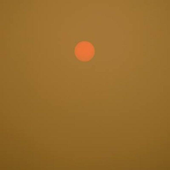 Alien Sun over Victoria, B.C.