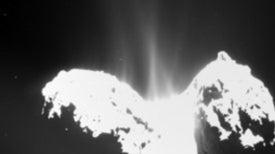 Rosetta detecta nitrógeno molecular en el cometa 67P/Churyumov-Gerasimenko