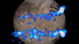 Las auroras de Ganímedes sugieren que tiene un océano subterráneo