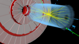 El LHC observa posibles indicios de un nuevo bosón