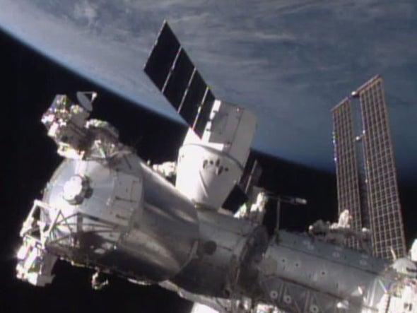 Nuevo cargamento llega a la Estación Espacial Internacional