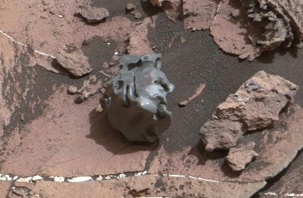 Análisis de meteoritos en un mundo extraterrestre (con lásers)