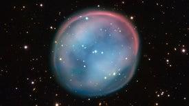 """Telescopio captura el """"fantasma"""" de una estrella"""