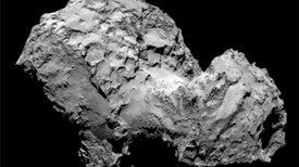 El cometa con forma de pato confunde a los astrónomos