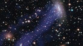 Astrónomos descubren cómo se forman las 'galaxias medusa'