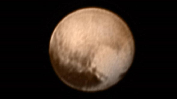 New Horizons espía el 'corazón' de Plutón mientras se prepara para su sobrevuelo
