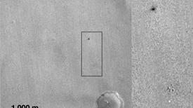 Nuevas imágenes revelan el destino del módulo de aterrizaje perdido en Marte