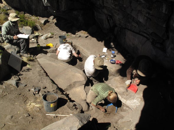 Descubren en los Andes peruanos la ocupación humana más antigua a altitud extrema