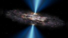 Descubren un agujero negro supermasivo en el universo temprano