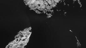 La surrealista tarea de aterrizar en un cometa