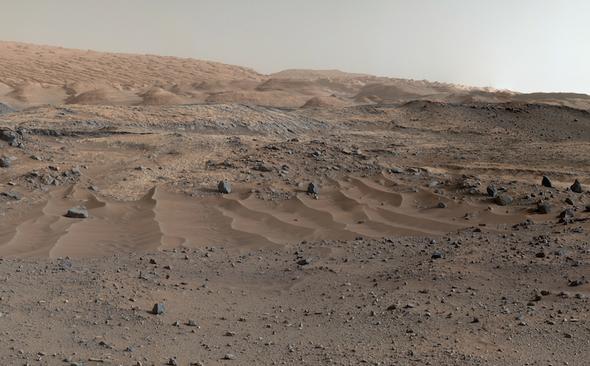 Los impresionantes panoramas de Marte captados por Curiosity, al cumplirse tres años de su misión
