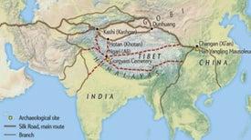 Arqueólogos descubren otra rama de la Ruta de la Seda