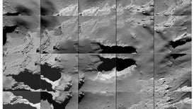 Rosetta finaliza su misión al estrellarse contra su cometa