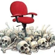 Sillas asesinas: cómo trabajar sentado arruina su salud