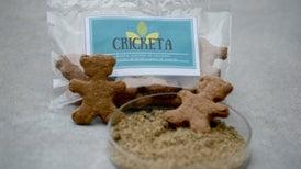 ¿Se le antoja una rica galleta? Esta es muy nutritiva gracias a su ingrediente secreto: grillos