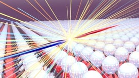 Un colisionador de cuasipartículas revela secretos de materiales
