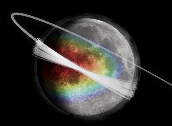 Descubren cielos nublados sobre la Luna