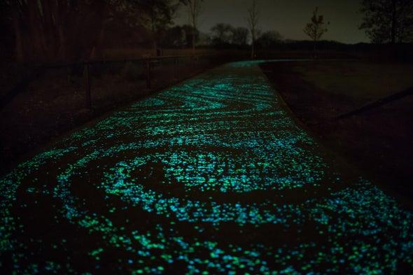 Científico mexicano crea cemento luminoso