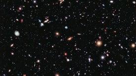 Encuentran luz de las primeras estrellas del universo en fotos captadas por el Hubble