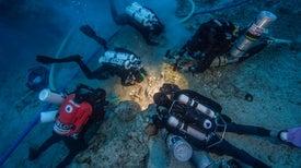 Hallan un esqueleto humano en el famoso naufragio de Anticitera