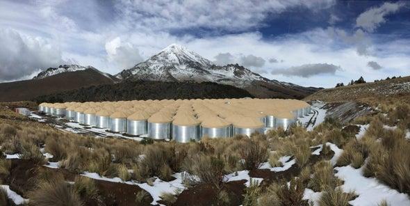 Un nuevo detector de rayos gamma abre sus puertas en México