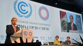 Las negociaciones sobre el clima en Lima se enfrentan a una prueba crítica