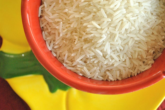 Como hacer arroz al vapor para dieta