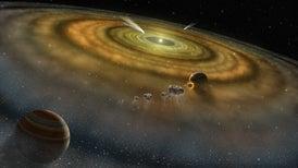 Detectan exocometas en la constelación Leo