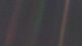 """La Tierra vista como """"un punto azul pálido"""", 25 años después"""