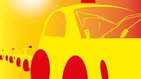 Los vehículos autónomos van por el carril de ascenso