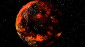 Los asteroides llevaron el agua a la Luna