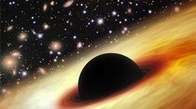Joven agujero negro tuvo un enorme 'estirón'
