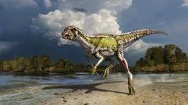 ¿De qué color eran los dinosaurios?
