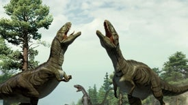 Los dinosaurios realizaban juegos previos al sexo