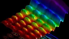 Una fotografía muestra el comportamiento dual de la luz