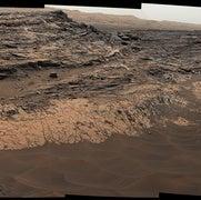 Curiosity descubre chimeneas por las que circulaban fluidos en Marte