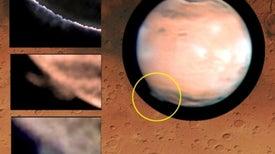 ¿De dónde surgen las enormes plumas nubosas de Marte?