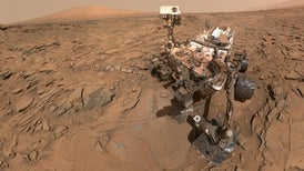 Curiosity envía datos contradictorios sobre un antiguo lago marciano