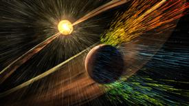 La sonda MAVEN detecta 'zarcillos de fuego' en la atmósfera de Marte