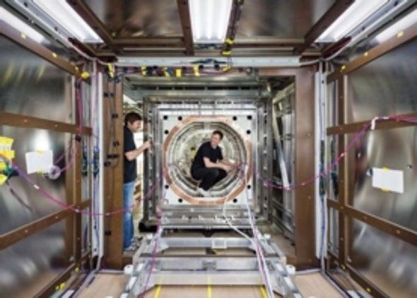 La sala con el campo magnético más débil de la Tierra