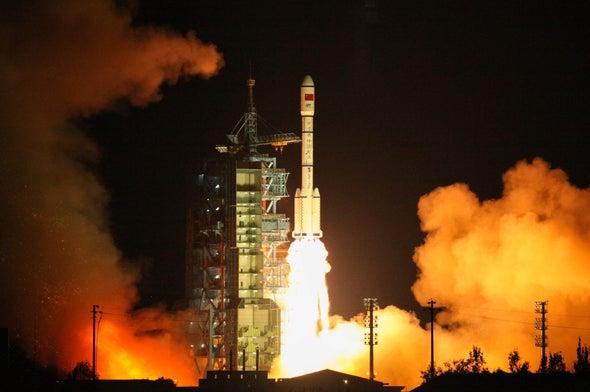 China lanza su segundo laboratorio espacial