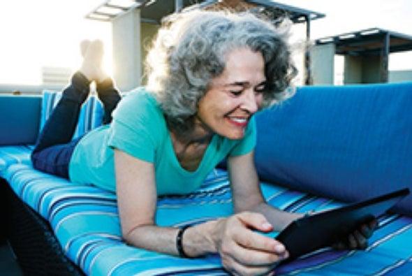 Las personas mayores usan Internet para hablar de sexo