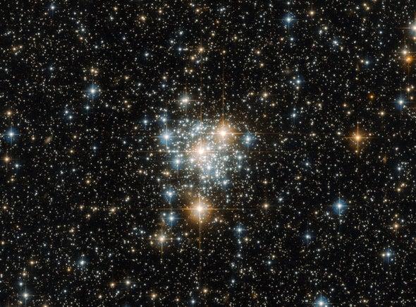 Hubble captura imagen de un hermoso cúmulo de estrellas abierto