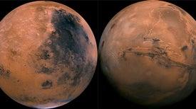 La colisión de un asteroide gigante podría haber transformado radicalmente a Marte