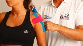 El efecto analgésico de la cinta terapéutica para los atletas es limitado