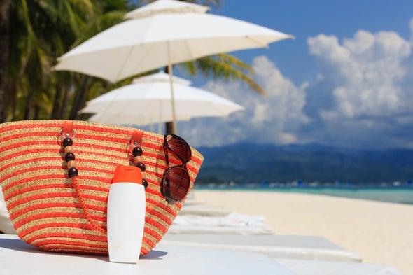 Los protectores solares son mejores que la sombrilla de playa