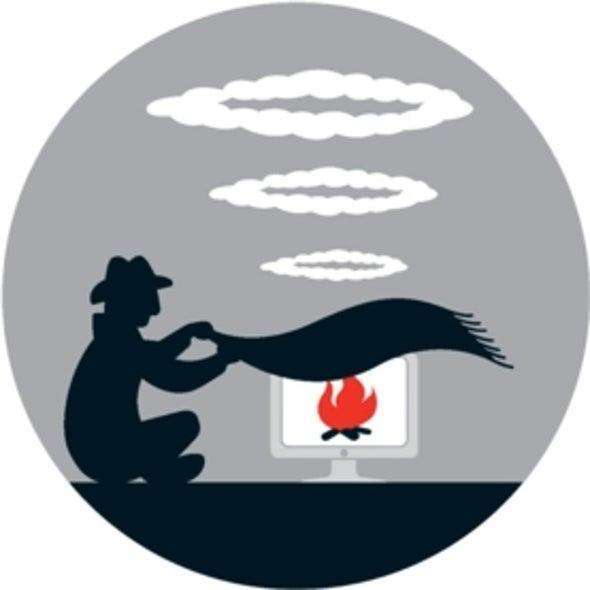 El aire caliente que desprende una computadora puede revelar secretos
