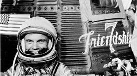 ¡Buen viaje!, John Glenn –el astronauta por excelencia–